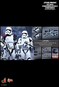 First Order Stormtroopers Officer & Stormtrooper (MMS335)