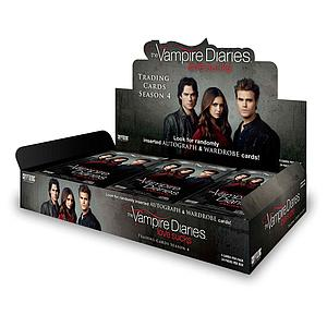 The Vampire Diaries Trading Cards Season 4 Box