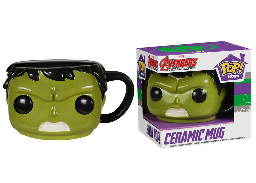 Pop! Home: Avengers Age of Ultron Hulk Pop! Ceramic Mug