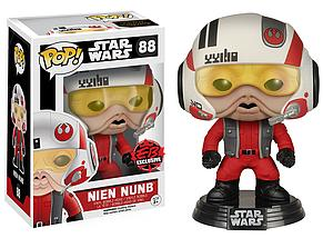 Pop! Star Wars The Force Awakens Vinyl Bobble-Head Nien Nunb #88 EB Games / Gamestop Exclusive (Sale)