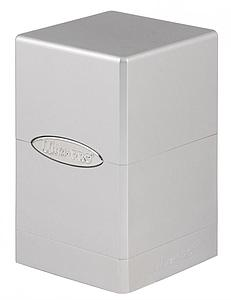 Deck Box Satin Tower: Silver (Metallic)