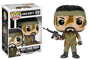 Pop! Games Call of Duty Vinyl Figure MSgt. Frank Woods #69 (Vaulted)