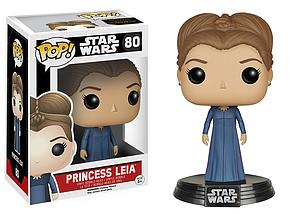 Pop! Star Wars The Force Awakens Vinyl Bobble-Head Princess Leia #80 (Vaulted)