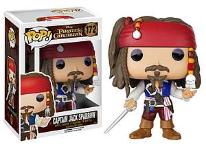 Pop! Disney Pirates of the Caribbean Vinyl Figure Captain Jack Sparrow #172 (Retired)