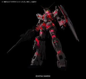 Gundam Perfect Grade 1/60 Scale Model Kit: LED Unit for PG RX-0 Unicorn Gundam