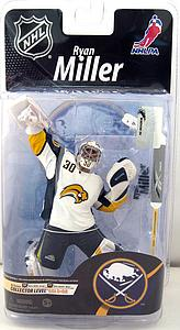 NHL Sportspicks Series 26 Ryan Miller (Buffalo Sabres) White Jersey Collector Level Gold