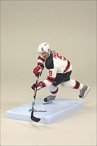 NHL Sportspicks Series 26 Zach Parise (New Jersey Devils) White Jersey