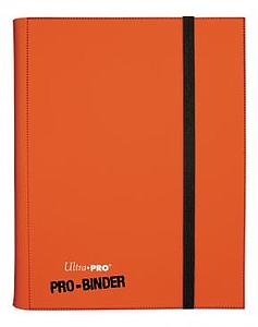 9-Pocket Pro-Binder: Orange
