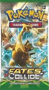 Pokemon Trading Card Game: XY10 Fates Collide Booster Pack