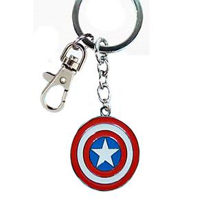 Marvel Keychain Captain America Shield (Comic Ver)