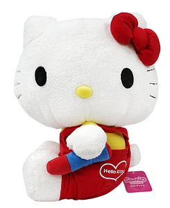 "Sanrio Plush Hello Kitty Holding Crayon (15"")"