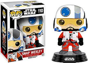 Pop! Star Wars The Force Awakens Vinyl Bobble-Head Snap Wexley #110 (Vaulted)