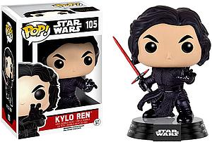 Pop! Star Wars The Force Awakens Vinyl Bobble-Head Kylo Ren (Battle Damaged) #105