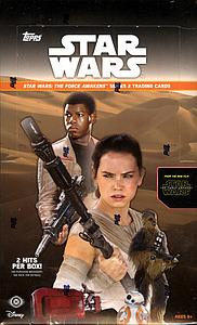 2016 Star Wars: The Force Awakens Trading Cards Booster Box (24 Packs)
