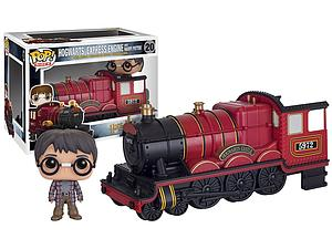 Pop! Rides Movies Harry Potter Vinyl Bobble-Head Hogwarts Express & Harry Potter #20