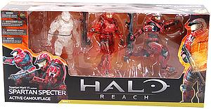 "Halo Reach 6"" Series 4 Three-Pack: Spartan Specter (Active Camouflage)"