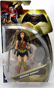 "Batman v Superman Dawn of Justice 6"" Basic Series 1 Action Figure Wonder Woman"