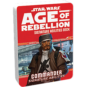 Star Wars: Age of Rebellion - Commander Signature Abilities