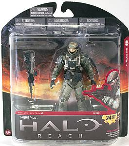 "Halo Reach 6"" Series 6: Sabre Pilot"