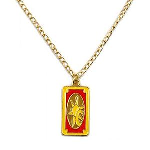Cardcaptors Sakura Necklace Clow Card