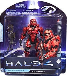 Halo 4 Series 1: Spartan Warrior (Red)