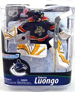 NHL Sportspicks Series 28 Roberto Luongo (Florida Panthers) Blue Jersey Collector Level Gold