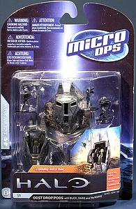 Halo Micro Ops 15mm Scale Series 1: ODST Drop Pods