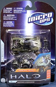Halo Micro Ops 15mm Scale Series 1: Warthog & Mongoose