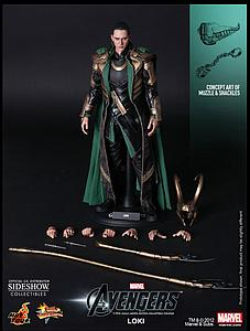 Marvel The Avengers (2012) 1/6 Scale Figure Loki