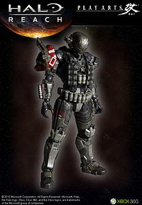 "Halo Reach Play Arts Kai 8"": Emile"