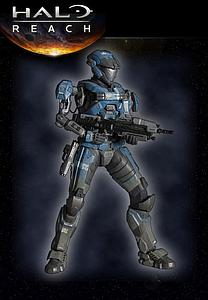 "Halo Reach Play Arts Kai 8"": Kat"