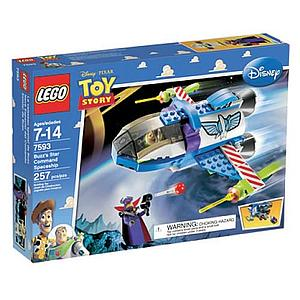 Lego Toy Story: Buzz's Star Command Spaceship 7593