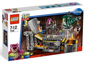 Lego Toy Story 3: Trash Compactor Escape 7596