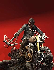 The Walking Dead TV Series Resin Statue: Daryl Dixon