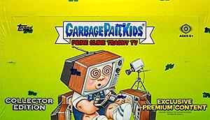 2016 Garbage Pail Kids Trashy TV Series 2 Trading Cards: Booster Box (24 Packs)