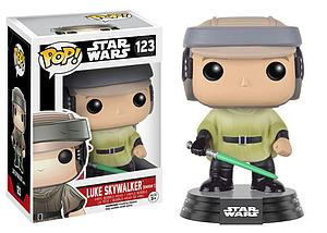 Pop! Star Wars Vinyl Bobble-Head Luke Skywalker (Endor) #123 (Retired)