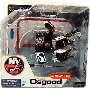 NHL Sportspicks Series 3 Chris Osgood (New York Islanders) Blue Jersey Variant