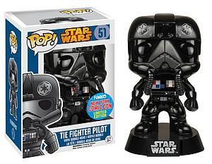 Pop! Star Wars Vinyl Bobble-Head Tie Fighter Pilot #51 New York Comic Con Limited Edition Exclusive