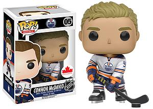 Pop! Hockey NHL Vinyl Figure Connor McDavid #05 (Edmonton Oilers) (Away Jersey Canadian Exclusive)