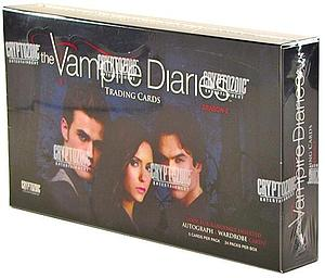 Cryptozoic Vampire Diaries Season 2 Trading Cards Sealed Box
