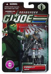 G.I. Joe 30th Anniversary 3 3/4 Inch 2012 Wave 2: Firefly (Renegades)