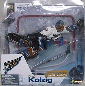 NHL Sportspicks Series 3 Olaf Kolzig (Washington Capitals) White Jersey Variant
