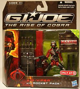 G.I. Joe The Rise of Cobra 3 3/4 Inch Exclusive: Air-Viper with Rocket