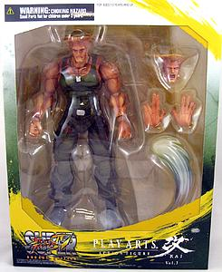 Square Enix Street Fighter Play Arts Kai: Guile