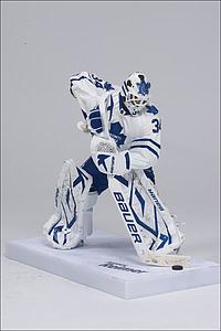 NHL Sportspicks Series 30 James Reimer (Toronto Maple Leafs) White Jersey Collector Level Bronze