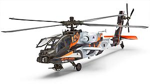 "AH-64D Apache ""100-Military Aviation"" (80-4896)"