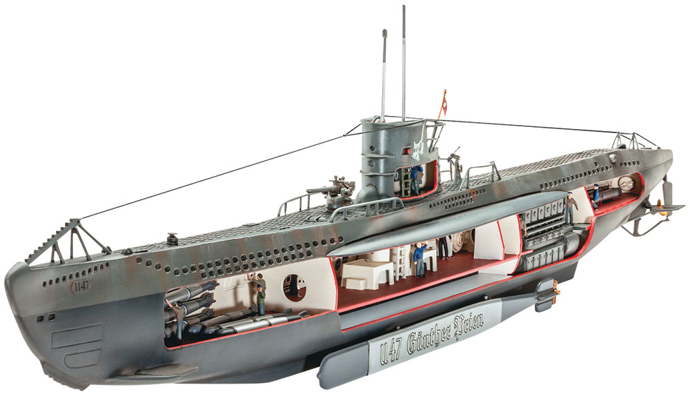 German Submarine U-47 (80-5060)