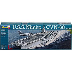 Revell Germany 1/720 Model Kit USS Nimitz CVN-68 [Early] (5130) (Retired)