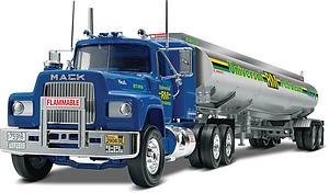 Mack R Conventional and Fruehauf Tanker (85-1961)