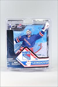 NHL Sportspicks Series 32 Henrik Lundqvist (New York Rangers) Blue Jersey Collector Level Bronze (#/2000)